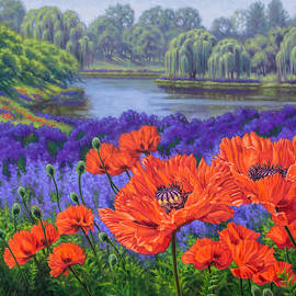 Fiona Craig - Red Poppies 2