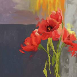 Red Poppies 400 I - Mawra Tahreem