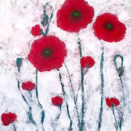 Wonju H - Red poppies dreamy