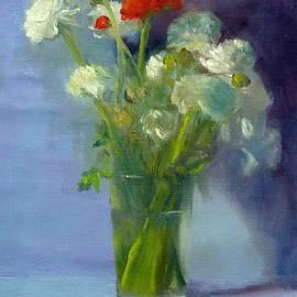 Elizabeth B Tucker  - Red Ranunculus