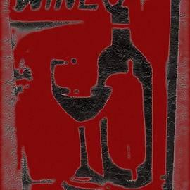Barbie Corbett-Newmin - Red red wine sign