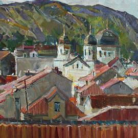 Juliya Zhukova - Red roofs