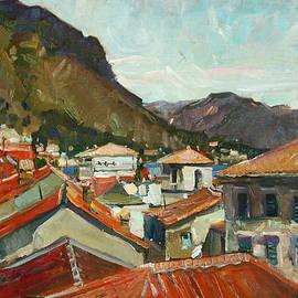 Juliya Zhukova - Red roofs of Kotor