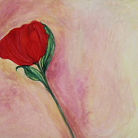 The Art Of Marilyn Ridoutt-Greene - Red Rose
