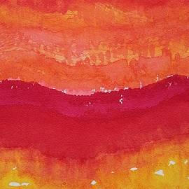 Sol Luckman - Red Saddle original painting