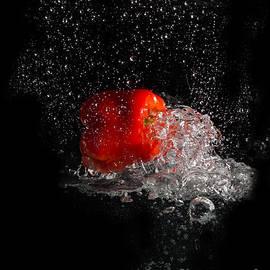 Barbara Dudzinska - Red Splash