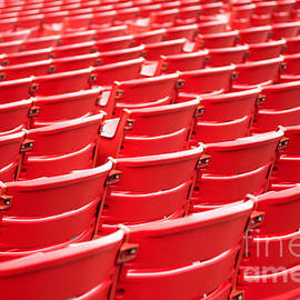 Red Stadium Seats - Paul Velgos