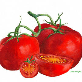 Nan Wright - Red Tomatoes