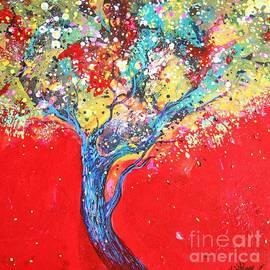 Sanjay Punekar - Red Tree