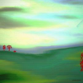 Lenore Senior - Red Trees