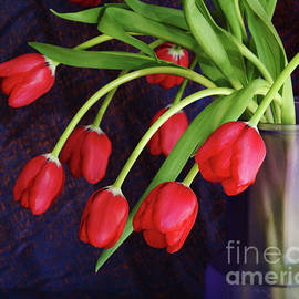 Georgia Sheron - Red Tulips