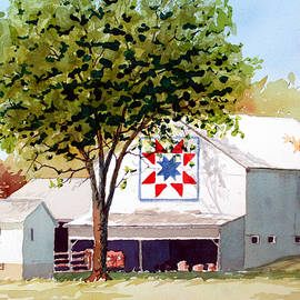 Jim Gerkin - Red White and Blue Barn