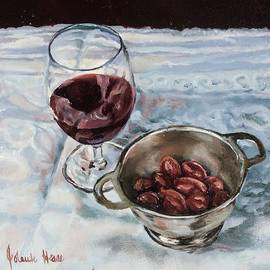 Jolante Hesse - Red Wine and Olives