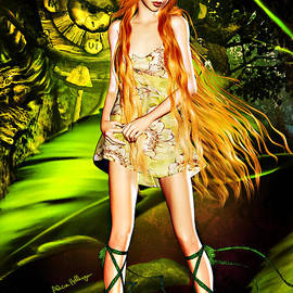 Redhead Forest Pixie