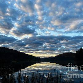 Thomas R Fletcher - Reflecting Clouds on  Lake
