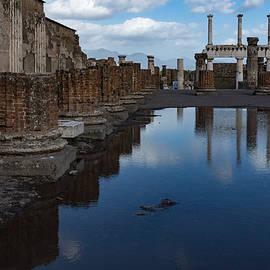 Georgia Mizuleva - Reflecting on Ancient Pompeii - the Giant Rain Puddle View