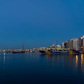 Georgia Mizuleva - Reflecting on Malta - Sliema Blue Morning
