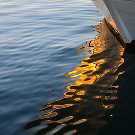 Georgia Mizuleva - Reflecting on Yachts and Sunsets