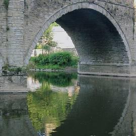 Jackie Tweddle - Reflection of Dinham Bridge on the Teme