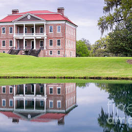 Dawna  Moore Photography - Reflection on Drayton Hall Mount Pleasant South Carolina