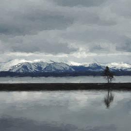 Jayne Wilson - Reflections in Lake Yellowstone