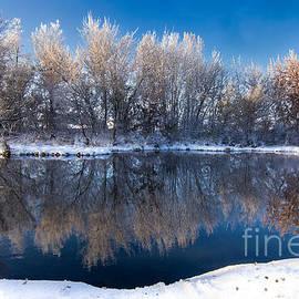 Kaylyn Franks - Reflections of Falwinter Idaho Landscapes by Kaylyn Franks