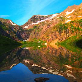 Ryan Scholl - Reflections on Gunsight Lake