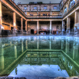 Peggy Berger - Reflections Roman Baths in Bath