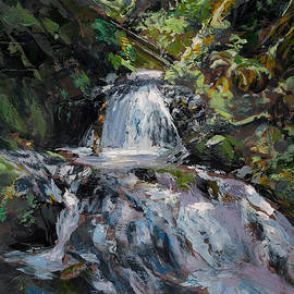 Karen Whitworth - Refreshed A Cool Forest Stream