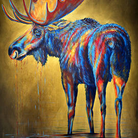 Teshia Art - Regal Moose