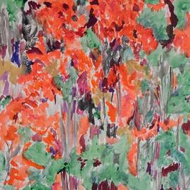 Esther Newman-Cohen - Regal Red Fall Foliage