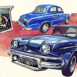Renault Willys Gordini - Yoshiharu Miyakawa