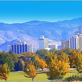 Bobbee Rickard - Reno in the Fall Skyline