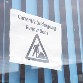 Renovation notice - Tom Gowanlock