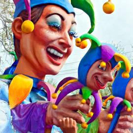 Steve Harrington - Rex Mardi Gras Parade XI paint