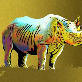 Anthony Mwangi - Rhinoceros