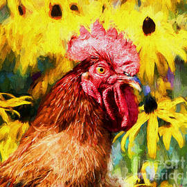 Tina  LeCour - Rhode Island Red Rooster