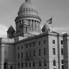 David Gordon - Rhode Island State House I BW