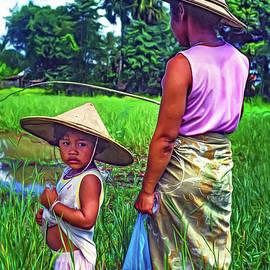 Steve Harrington - Rice Paddy Fishing