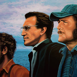 Paul Meijering - Jaws with Richard Dreyfuss, Roy Scheider and Robert Shaw