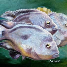 Phyllis Beiser - Rio Grande Cichlids