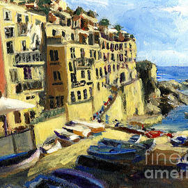Randy Sprout - Riomaggiore Italy Late Afternoon