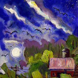 Charlie Spear - Rising Moon on Walnut Ridge