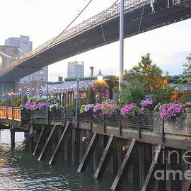Photographic Art and Design by Dora Sofia Caputo - The River Cafe Under The Brooklyn Bridge