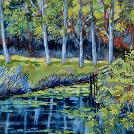 Cathy MONNIER - River in Mauprevoir