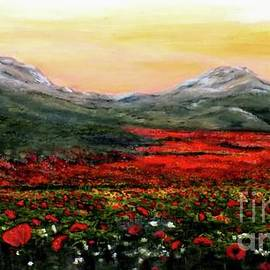 Judy Kirouac - River of Poppies