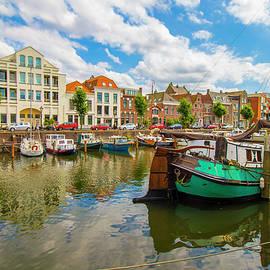 Venetia Featherstone-Witty - River Scene in Rotterdam