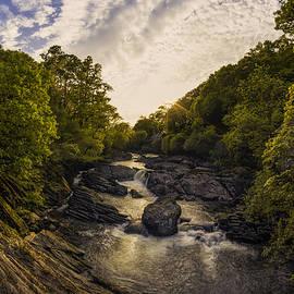 Ian Mitchell - River Sunset