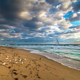 Lynn Bauer - Riviera Beach Sunrise