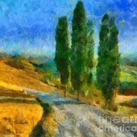Dragica  Micki Fortuna - Road In Tuscany